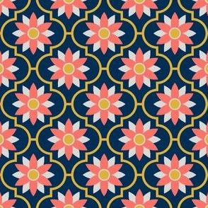 08417009 : crombus flower : coral goldenrod