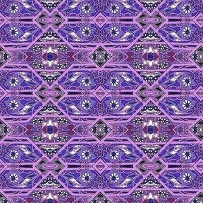 Diamond Hexagon Interlock