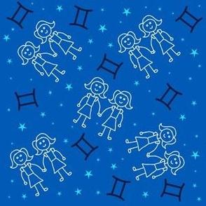 Gemini Twins Zodiac Sign