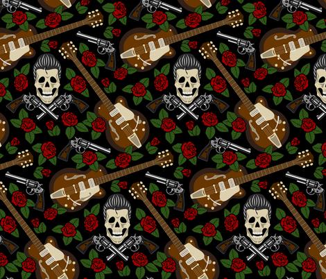 rockabilly fabric by svetlana_prikhnenko on Spoonflower - custom fabric