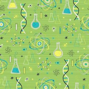 Midcentury Modern Science (Green)
