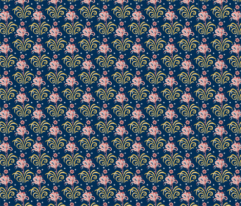 flowers fabric by dana_zurzolo on Spoonflower - custom fabric
