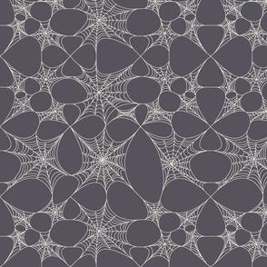 Grey Spider Web
