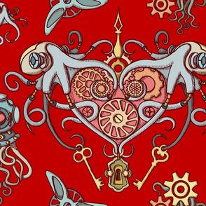 OCTOPUS in Love redBK