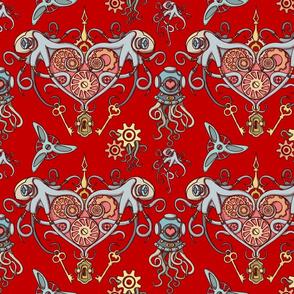 OCTOPUS in Love redBK 50