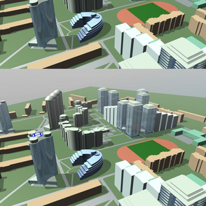 Architectural projects, 3d models of buildings