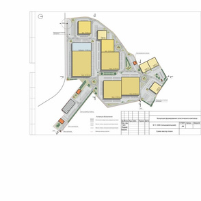 Project of a logistic park_ complex_ plan