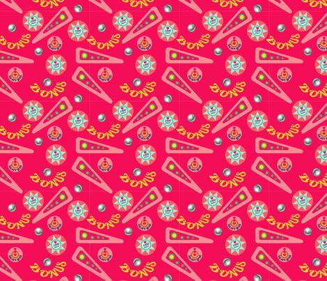 Pink flipper fabric by lananipattern on Spoonflower - custom fabric