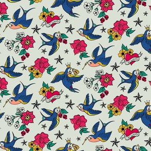 Rockabilly Birds, Small