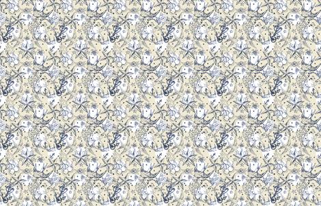 rockabilly tattoo fabric by katrina_ward on Spoonflower - custom fabric