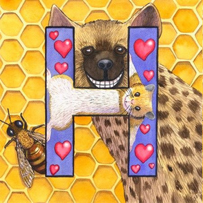 H- hyena