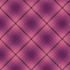 Different Hearts Plaid on the Diagonal