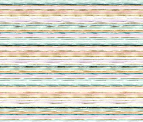 Daydream Stripe-XS fabric by crystal_walen on Spoonflower - custom fabric
