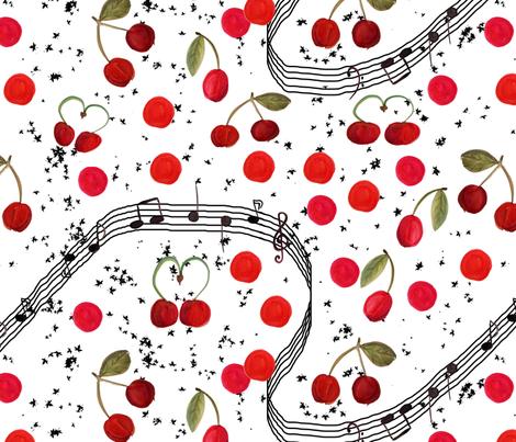 rocabilly fabric by belana on Spoonflower - custom fabric