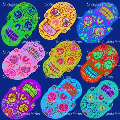Rockabilly Skull Tattoos