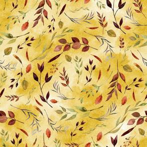 Autumn Leaves Mustard