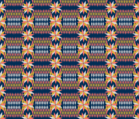 Basket Weaving Limited Color Palette fabric by snow_bird_designs on Spoonflower - custom fabric