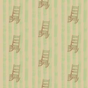 Rocking Chair Stripe   Vintage Vacation