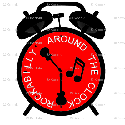 Rockabilly Around the Clock by kedoki