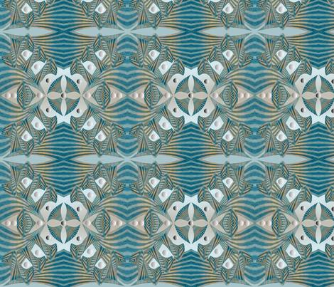 Rockabilly blues -1 fabric by ej_molnar on Spoonflower - custom fabric