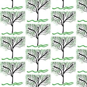 Trees Breathe Life (summer) - open leaves
