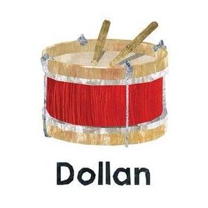 "GV Quilt - Dollan - 6"" Panel"