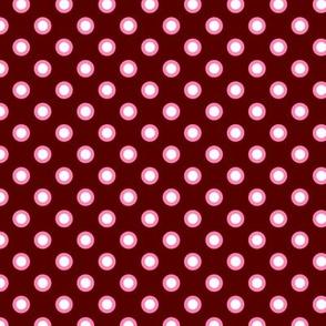 red rockabilly dots