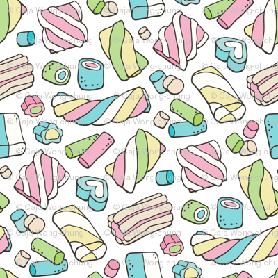 Marshmallows Candy Food