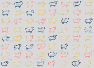 cashere goats coral limited small