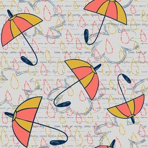 Limited Palette Rain Rain