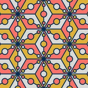 08424617 : SC3C3o : coral + goldenrod