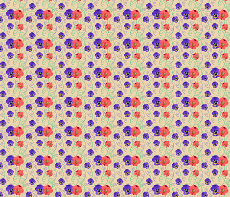 06_VIOLETTE_CAMPO fabric by lananipattern on Spoonflower - custom fabric