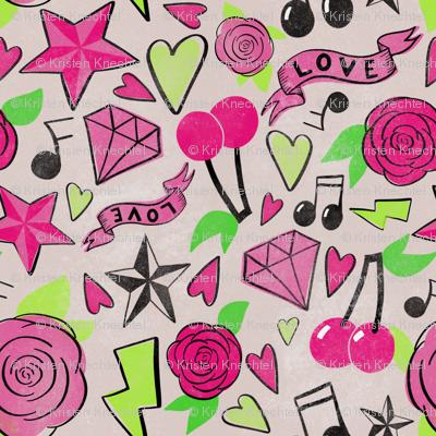 Pink Punk Rockabilly