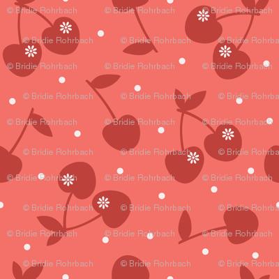 Coral Cherry Love