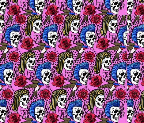 rockabilly fabric by eshighley on Spoonflower - custom fabric