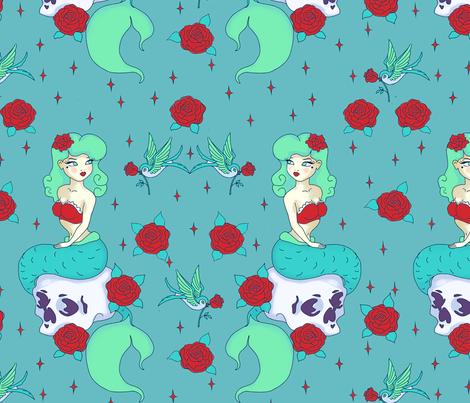 Rockabilly fabric by ptimiya on Spoonflower - custom fabric