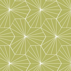 Mustard Hex Lines