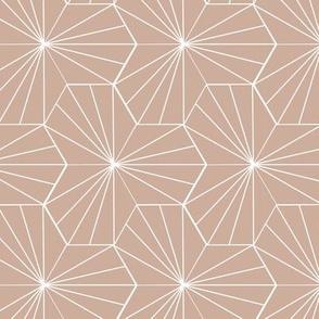 Pink Hex Lines