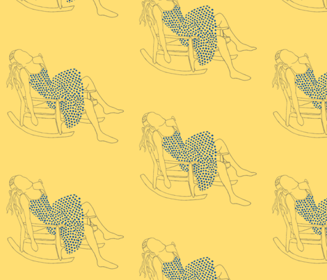 Rocker and Billie fabric by clare_walton on Spoonflower - custom fabric