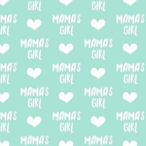 mama's girl - aqua LAD19