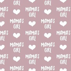 mama's girl - mauve LAD19