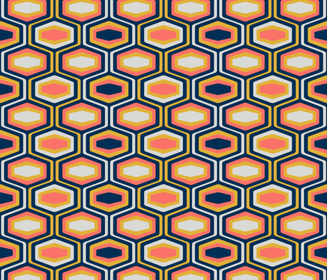 The Coral Limited fabric by madtropic on Spoonflower - custom fabric