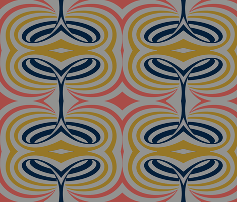 Abstract Swiirls fabric by charldia on Spoonflower - custom fabric
