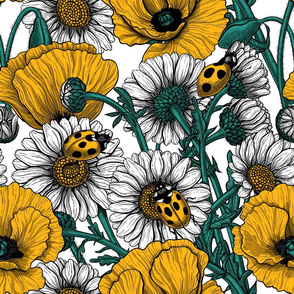 The meadow in yellow