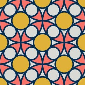 08427215 : R4circlemix : coral + goldenrod