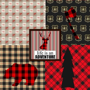 Life is an Adventure Patchwork