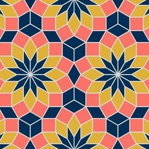 08427241 : SC3V234R : coral + goldenrod