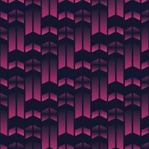 parallels 4 - double arrows dark purple
