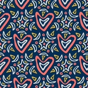 My Heart Is Ecstatic LIMITED PALETTE navy