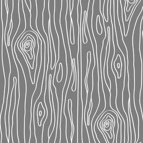 Gray Woodgrain